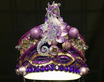 I Would Die 4 U Purple, White, and Gold Prince Marching Band Festival Hat