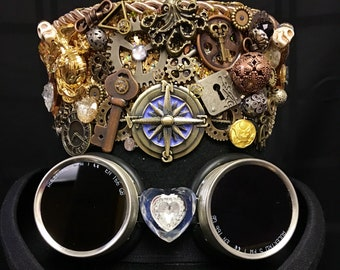 Lost Track of Time Steampunk Victorian Festival Top Hat Burning Man Cosplay
