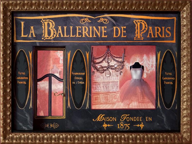 Miniature ballerina Parisienne storefront image 0