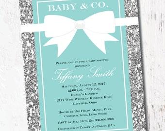 Tiffany Invitations Etsy