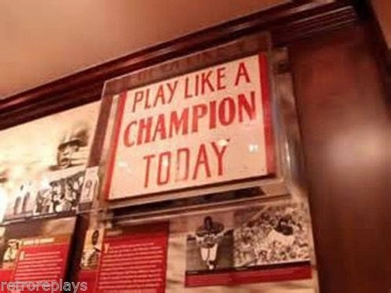 Play Like A Champion Today University of Oklahoma