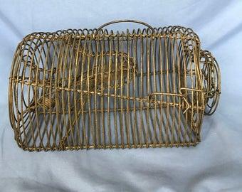 Vintage Cage Mousetrap