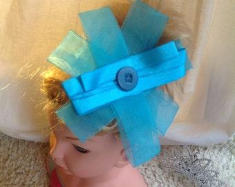 Big blue head band
