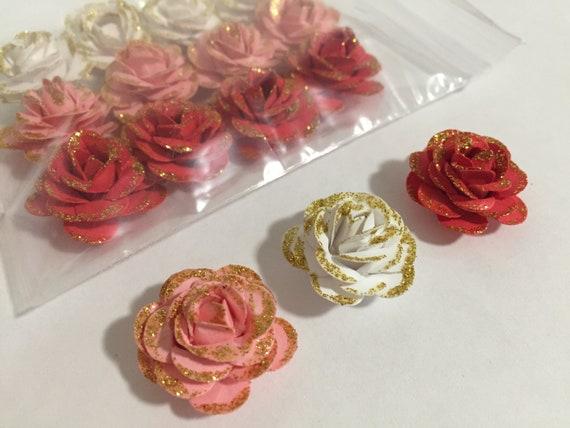 Handmade Paper Roses Handmade Rose Paper Roses Handmade Etsy