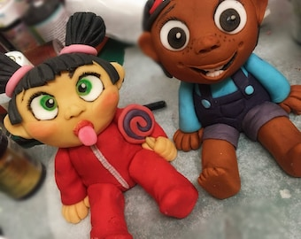 Little girls/boys cake toppers