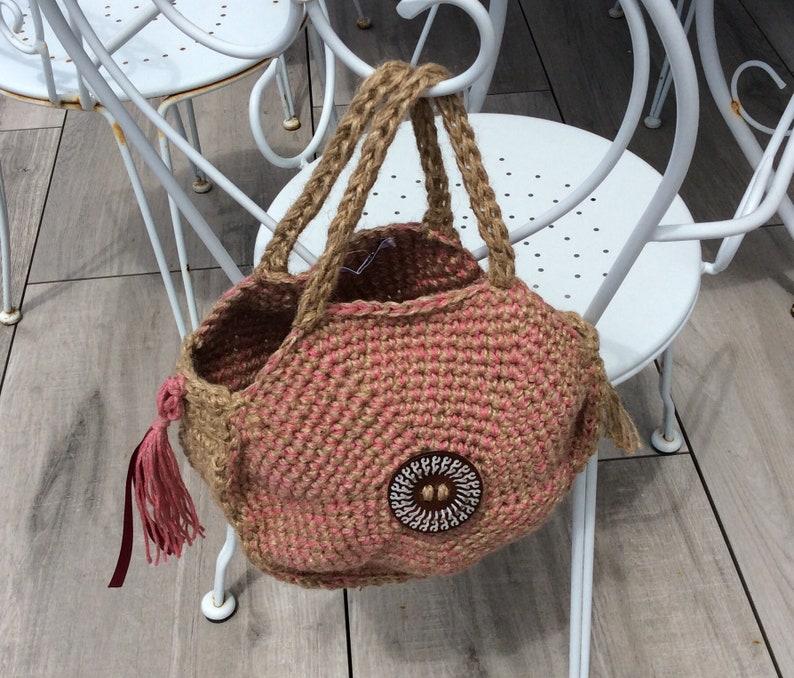 Bag round boho spirit