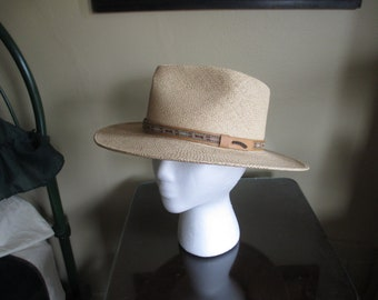 783cf3142fb7a Very NICE ORVIS Panama Hat ~ Handwoven in Ecuador ~ USA Made