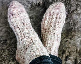 I See You socks - Pattern Only -  Digital Pattern in English/Norwegian