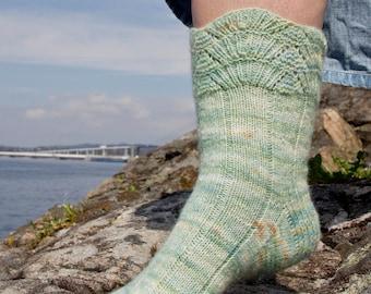 Fiordum Socks - Pattern Only -  Digital Pattern in English/Norwegian