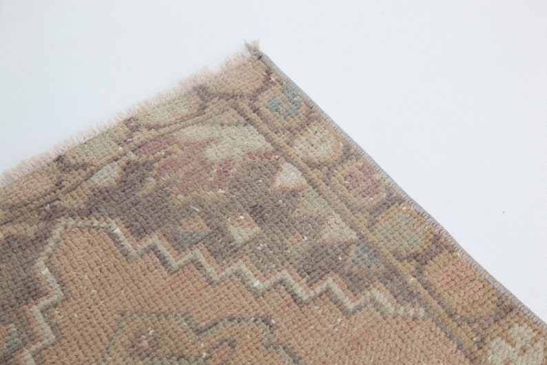 One of a Kind Turkish rug,Small Rug,Entrance rug,Soft Rug,Wool Rugs,Vintage Rug,Doormat Rug,Oushak Rug,Oriental Rug,Turkey Rug,old tribalrug