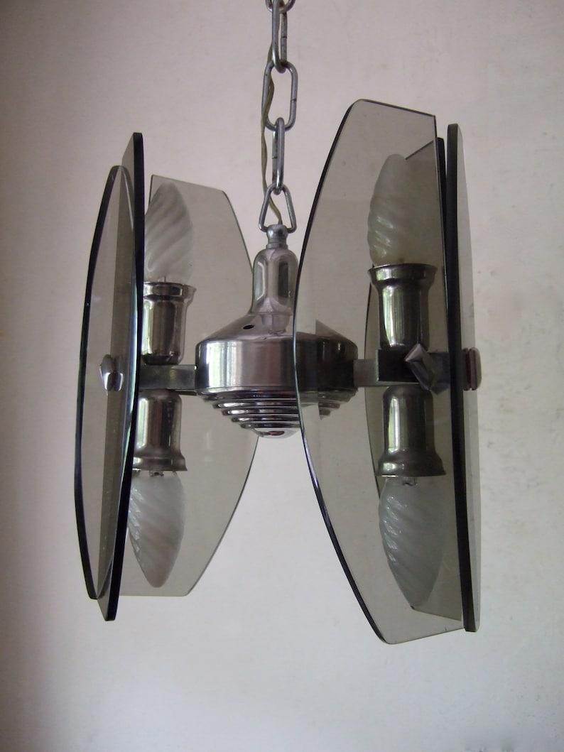 4 lightchandelier 1960/'s . star wars VINTAGE RETRO SCANDINAVIAN space age