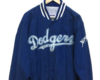 50% Vintage LA Dodgers Nomo Genuine Merchandise by Starter Hoodie Long Jacket G6yAmXZ