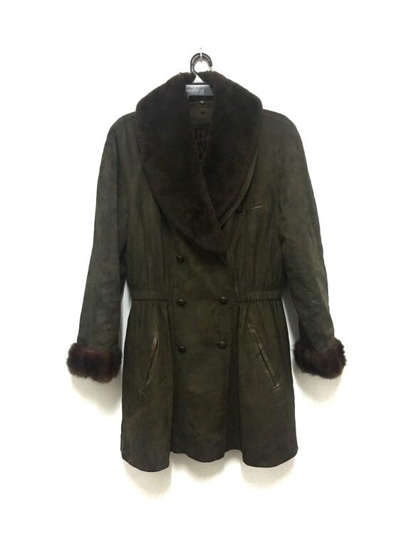 Free shipping Kenzo Leopard Velvet Jacket Coat Par