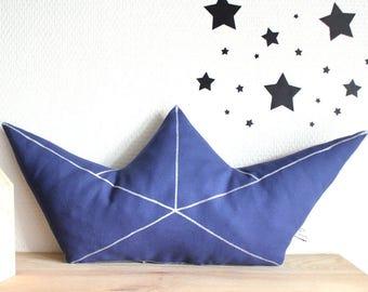 Cushion origami boat