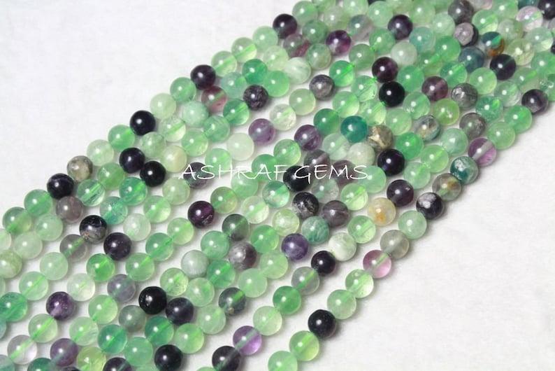 "100 /"" 8mm azurite gemstone loose beads Necklace Length"