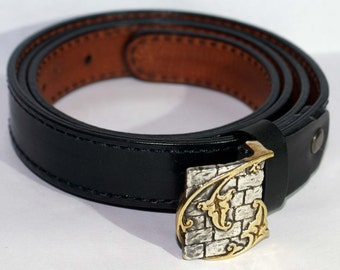 Women's leather belt Vine The belt is of leather for women Belt Made Of Genuine leather Black and brown hendmade