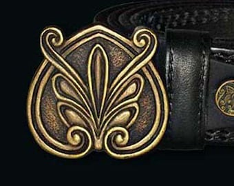 Women's leather belt Blossom The belt is of leather for women Belt Made Of Genuine leather Black and brown hendmade
