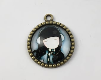 The little girl pendant