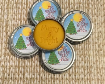 5 pack Christmas Gingerbread aromatherapy, appreciation, gift for friend co-worker, employee, stress relief, easy gifting, holiday