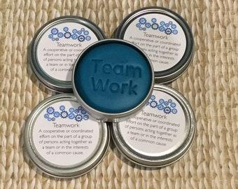 5 Lavender & Chamomile TeamWork, Team work, employee engagement, appreciation gift, co-worker, stress relief, wellness, staff bulk gifts
