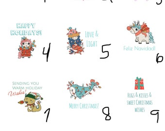 10 holiday party favors small christmas gifts coworker gifts gifts under 5 custom bulk gift exchange stocking stuffer stress relief