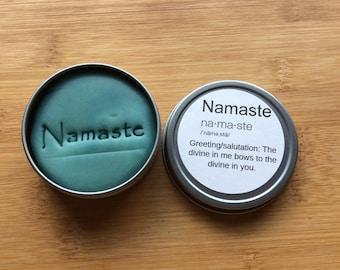 Namaste. Chamomile and jasmine dough.