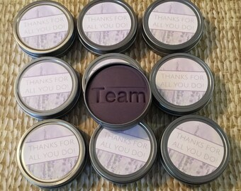 10 Lavender essential oil aromatherapy dough: Thank you gift, employee client friend co-worker stress relief gifts, bulk