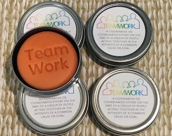5 appreciation gifts for co-workers, stress relief dough, employee engagement, team work, gift from boss, aromatherapy, bulk office gifts