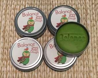 PREORDER 5 pack BALANCE Winter Stress Relief Dough. Christmas, Holiday, co-worker gift exchange, office gift, bulk gifts, stocking, Hanukkah