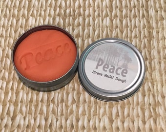 PREORDER PEACE Winter Stress Relief Dough. Relaxing Christmas, Holiday, co-worker gift exchange, office gift, bulk gifts, stocking, Hanukkah