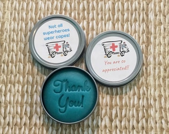 First responder, EMT, doctor gift: essential oil dough, employee appreciation gift, co-worker, stress relief, cute unique employee gifts