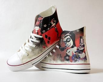 b8c1b4c269a1d1 Fanart Harley requested custom shoe decoration