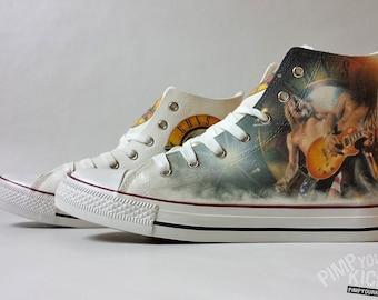 4a37f72f0523 Rock band fanart request custom shoe decoration
