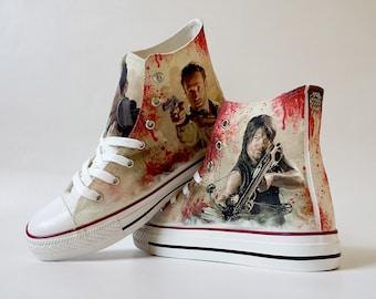 84e02d4660b8 Zombie hunter shoe decoration