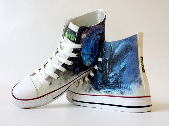 0d581d439585 Fanart The Queen of Space requested custom shoe decoration