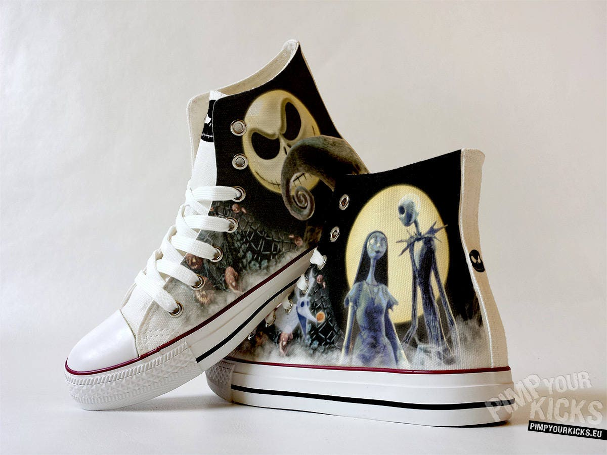 Fanart Sally Jack And Sally Fanart requested custom shoe decoration b6c9bd