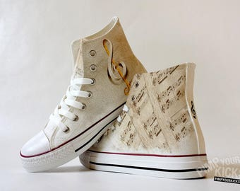 Sheet Music, Custom Made Shoes