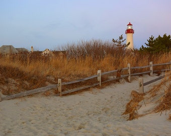 Cape May Lighthouse, New Jersey, Lighthouse, Beach, Wall Art