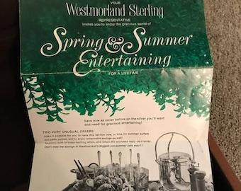 Westmoreland Sterling Silver Flatware