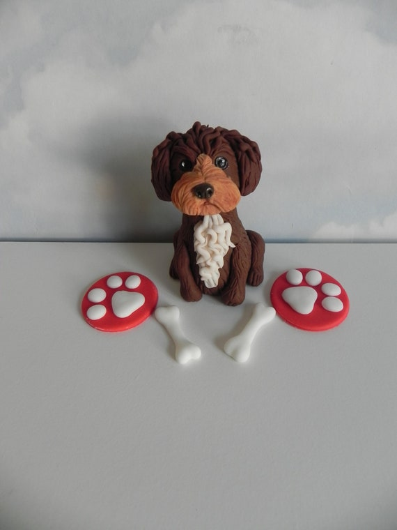 Boxer dog Personalised Sugar Icing Sheet Cake Topper party birthday decoration