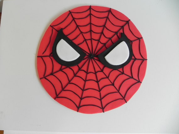 Spiderman Kuchen Topper Geburtstagstorte Etsy