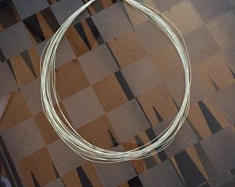 Sterling Multi Strand Necklace
