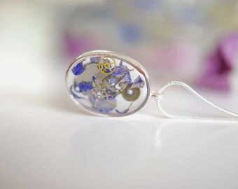 Necklace steampunk 28 x 20 mm
