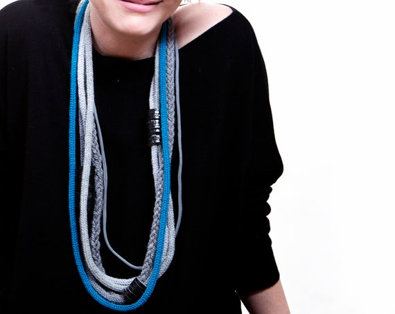 Handmade Necklace, Contemporary Jewelry, Made in Italy-Mod 09-24