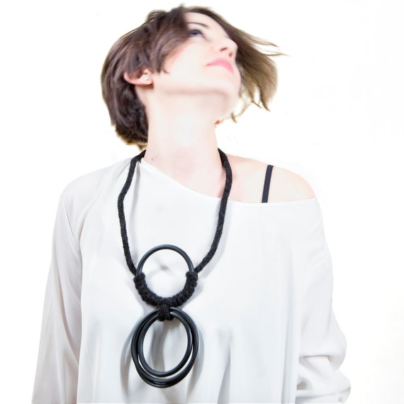 Handmade Necklace, Contemporary Jewelry, Made in Italy-Mod 50-02