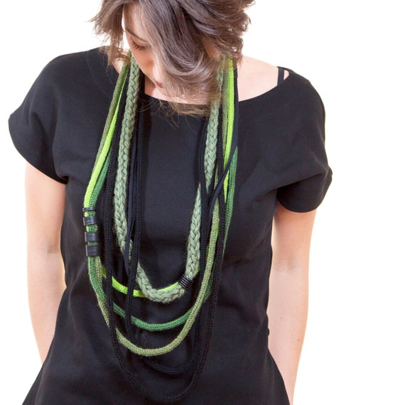 Handmade Necklace, Contemporary Jewelry, Made in Italy-Mod 06-21