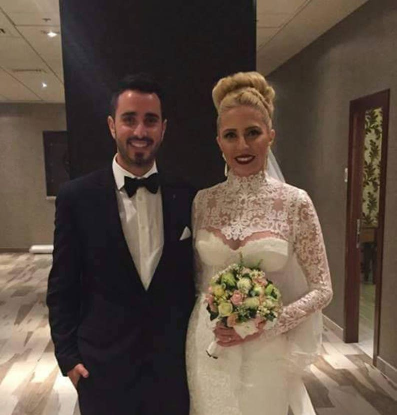 019f62a182357 Lace Bolero Wedding Lace Bolero Long Sleeve Shrug Bridal | Etsy