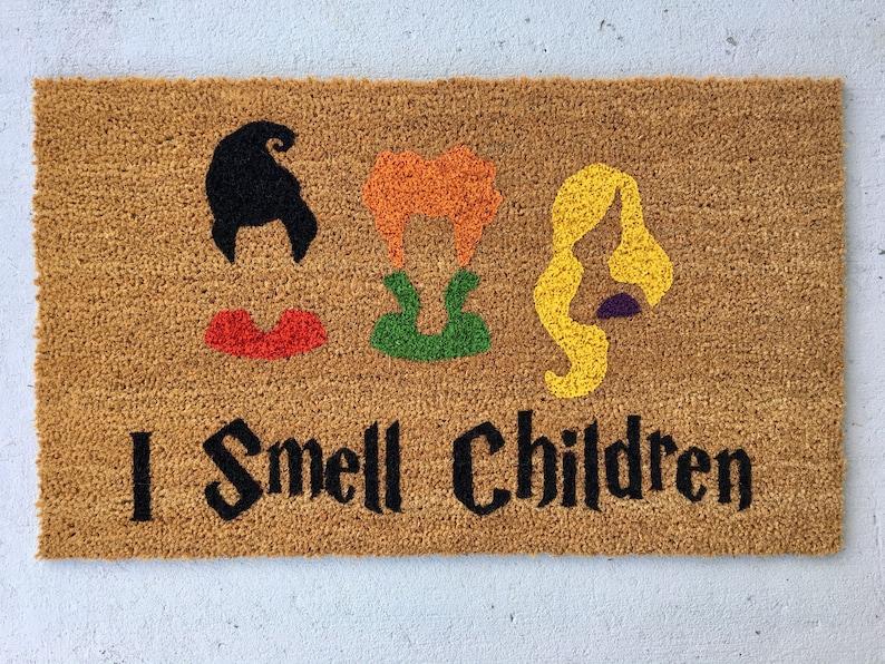 The original Hocus Pocus Doormat Sanderson Sisters Door mat image 0