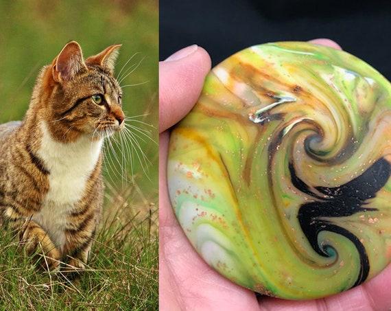 Karma Spiral Pet Memorial - (#PM24) - Pet Memorial, Pet Loss, Pet Remembrance, Sympathy Gift, Pet Lover Gift, Dog Memorial, Cat Memorial
