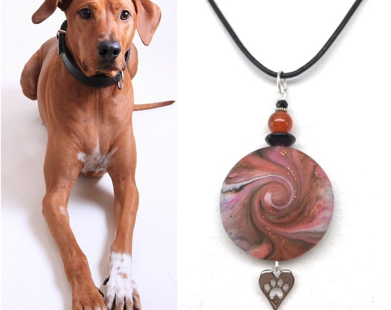 Karma Spiral Pet Memorial - Pet Loss Gift, Pet Memorial, Pet Remembrance, Cat Memorial, Dog Memorial, Sympathy Gift, Pet Lover Gift, #PM47